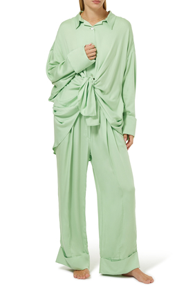 Mint Pajama Set