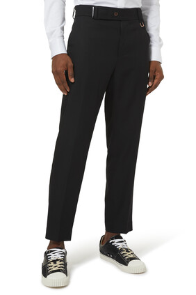 Slim Fit Wool Pants