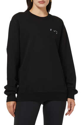 Liquid Melt Arrow Sweatshirt