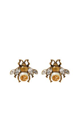 Crystal Bee Earrings