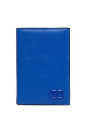 V Logo Signature Card Holder