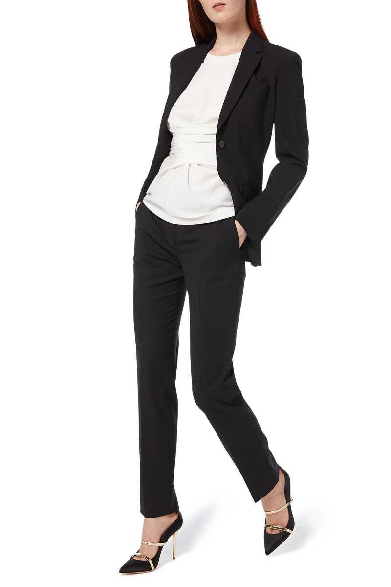 Treeca Tailored Wool Pants image number 6