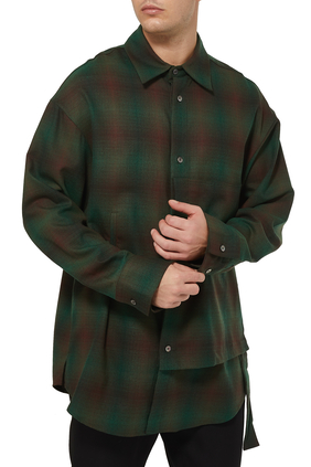 Plaid Oversized Shirt