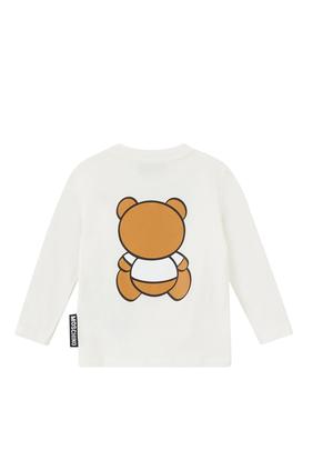 Teddy Bear Print T-shirt