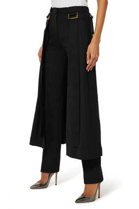 Reona Buckled Overlay Pants