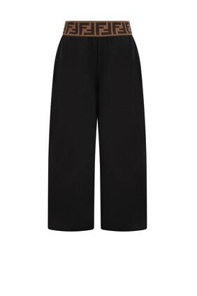 Monogram Wide Leg Pants