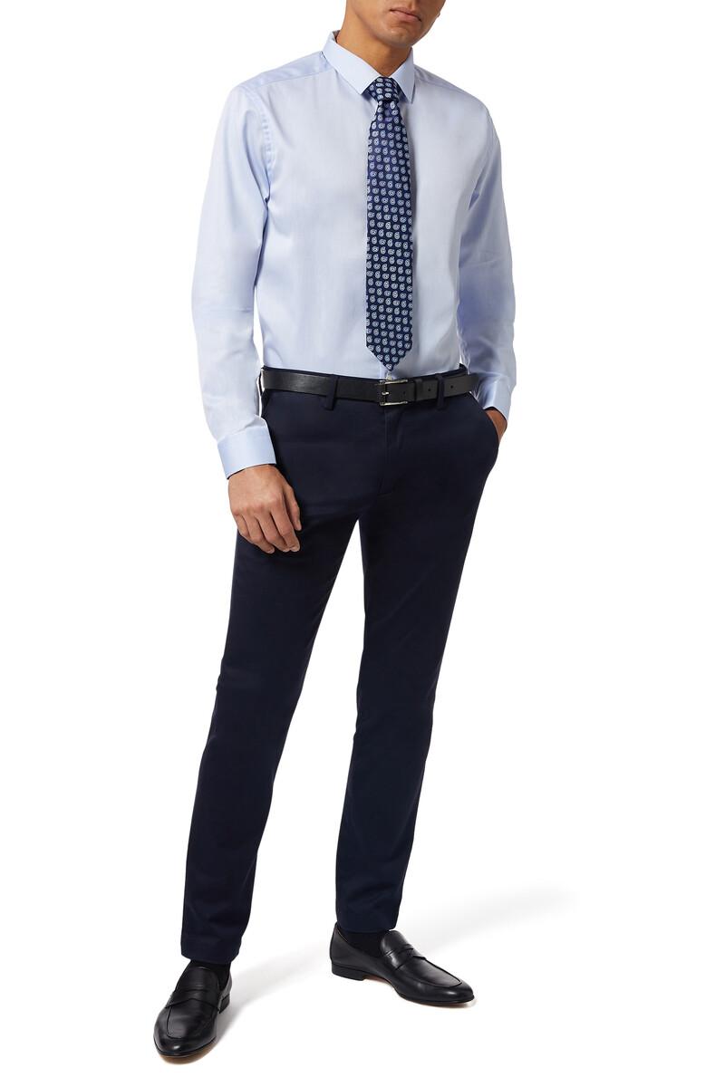 Super Slim Fit Signature Twill Shirt image number 2
