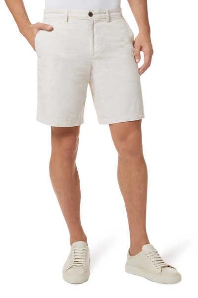 """Aiden 9"""" Linen-Mix Shorts"""