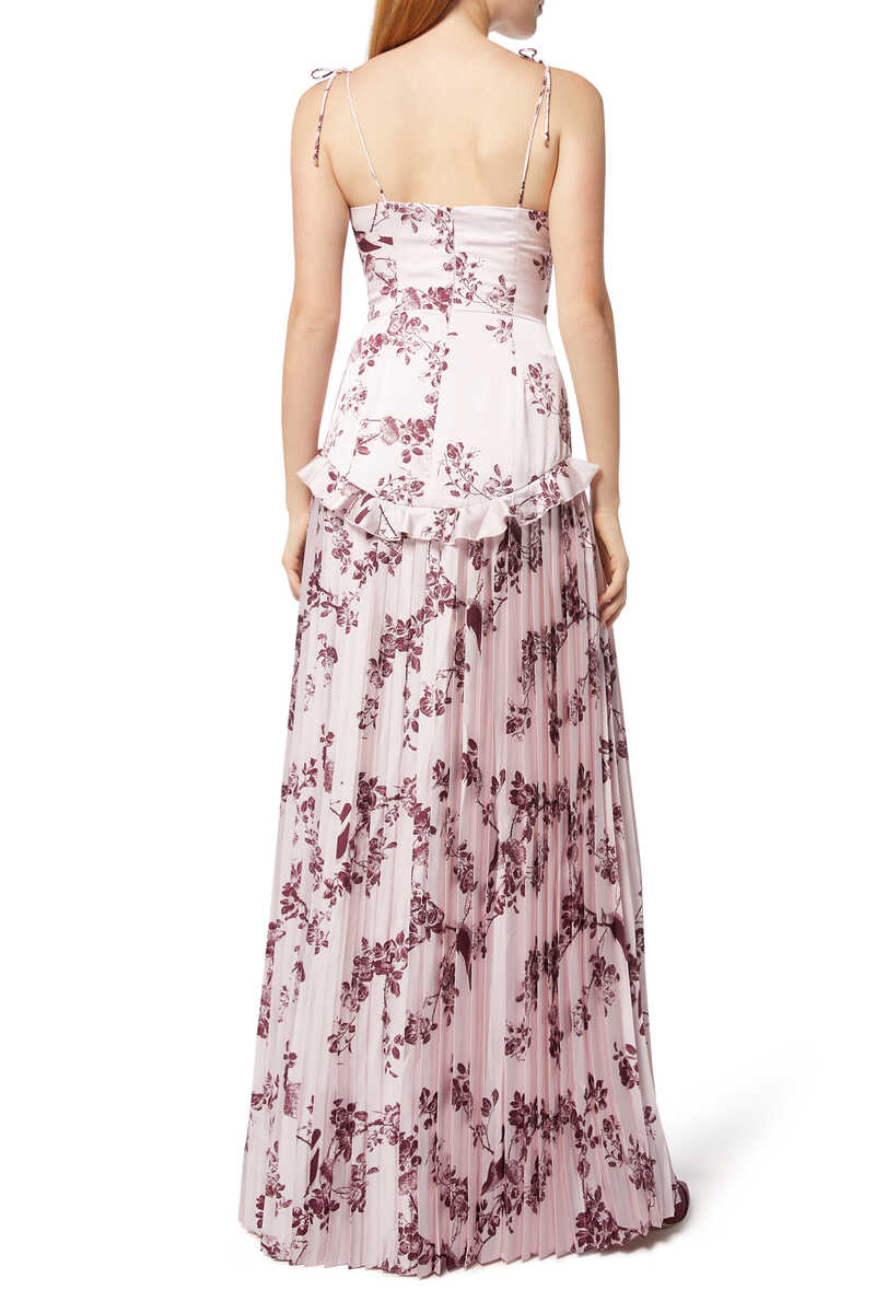 Belle Floral-Print Gown image number 3
