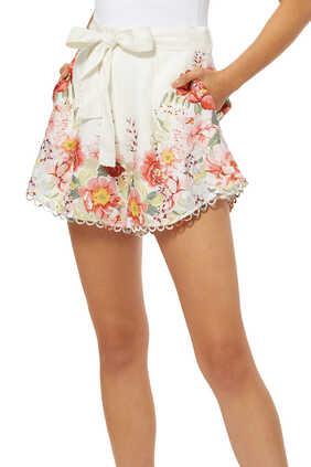 Bellitude Floral Shorts