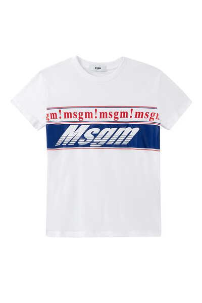Multi Logo Band T-shirt