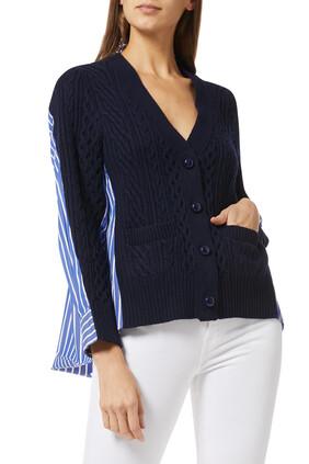 Wool Knit Cardigan