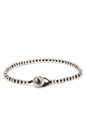 Bamboo-Macramé Braided Bracelet