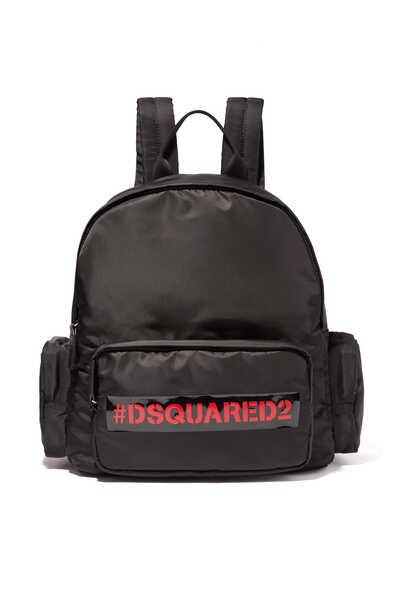 Hashtag Logo Backpack