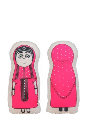 Kuwait Abaya Girl Plush Cushion