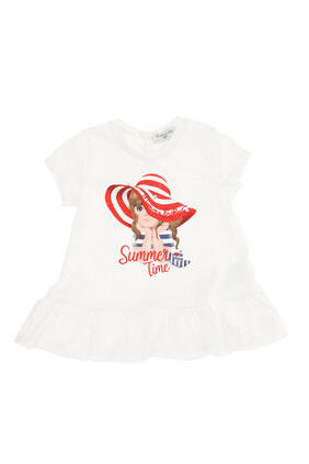 Maxi Graphic Print T-shirt