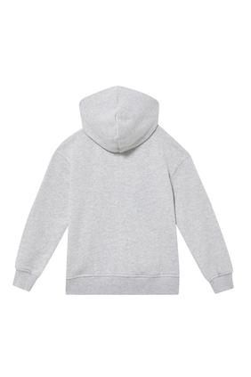 Cotton Logo Hoodie
