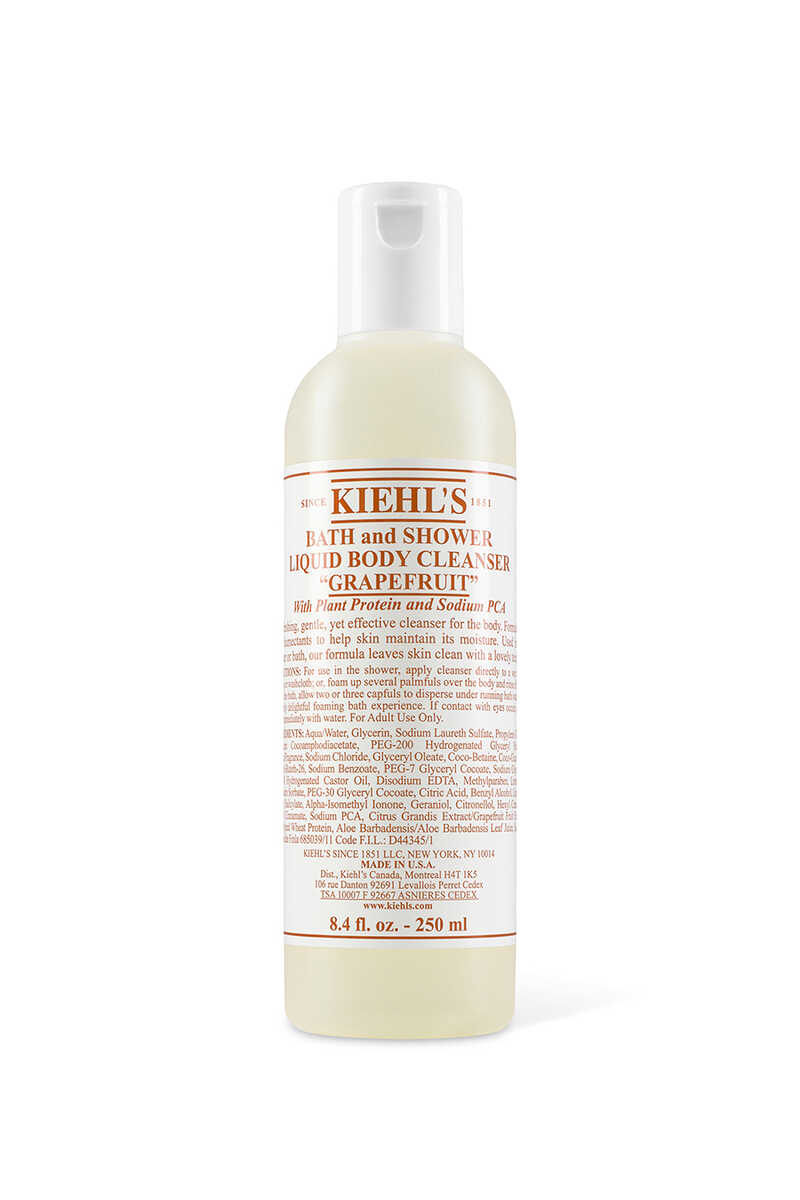 Grapefruit Scented Bath And Shower Liquid Body Cleanser image number 1