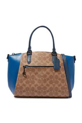 Elise Leather Satchel Bag