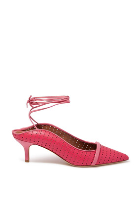 Amie Perforated Leather Pumps