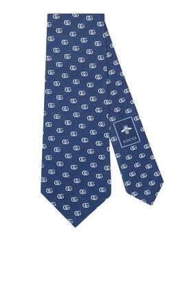 GG Silk Tie