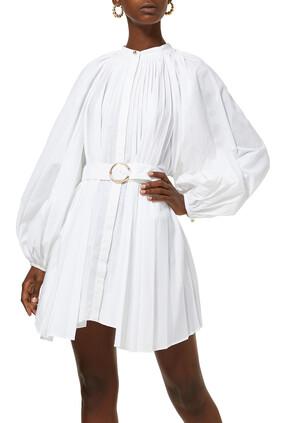 Margot Pleated Dress