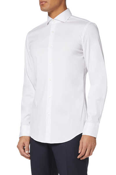 Christo Italian Micro-Structured Shirt
