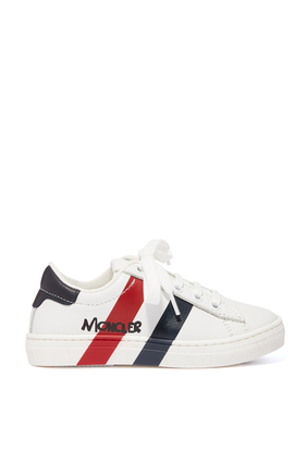Classic Stripes Logo Sneakers