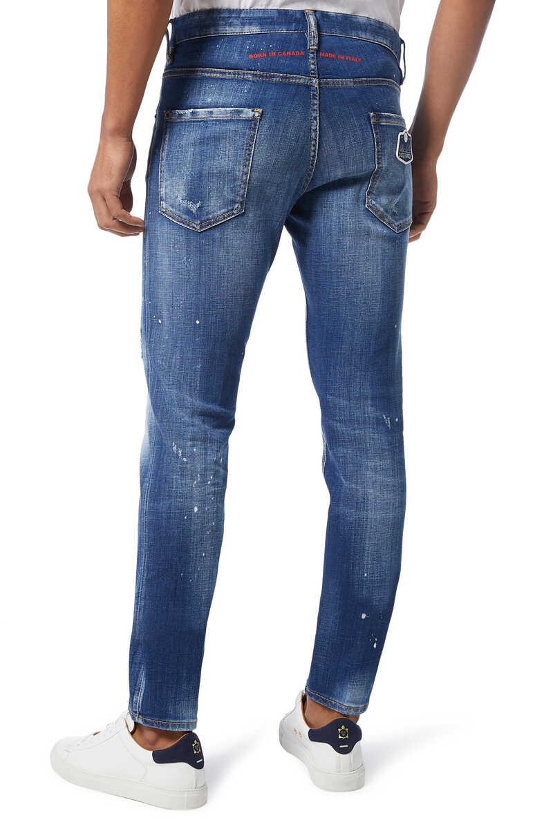 Cool Guy Scar Wash Denim Jeans image number 3