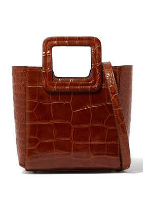 Mini Shirley Croc-Embossed Bag