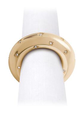 Star Swarovski Napkin Rings