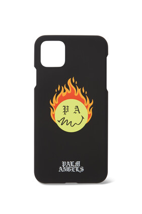 Burning Head iPhone 11 Pro Case