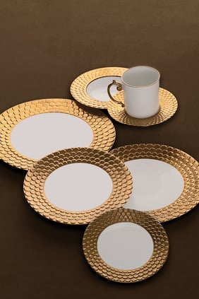Aegean Espresso Cup And Saucer Set Of Six