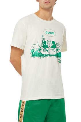 Disney x Gucci Cotton T-Shirt