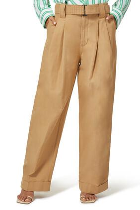 High-Rise Wide Leg Pants