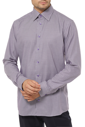 Check Fine Twill Shirt