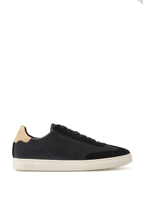 Deane Water Repellent Leather Sneakers
