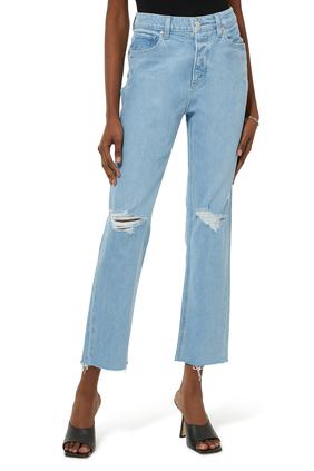 Crash Destructed Denim Jeans