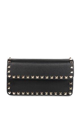 Valentino Garavani Rockstud Leather Wallet