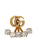 Crystal Double G Earring