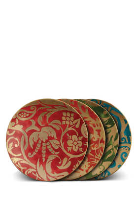 Fortuny Assorted Dessert Plates Set of Four