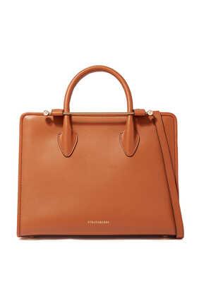 Allegro Midi Leather Tote Bag