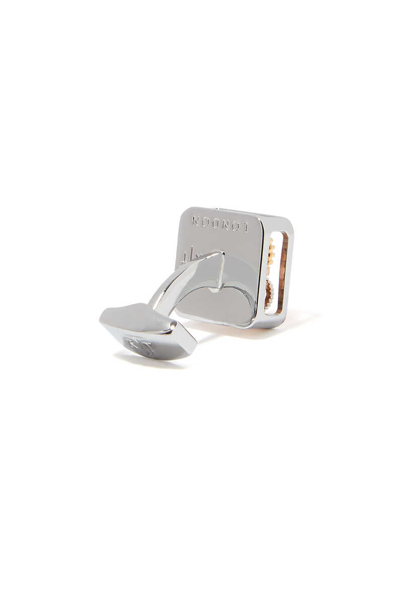 Square Button Cufflinks image number 2