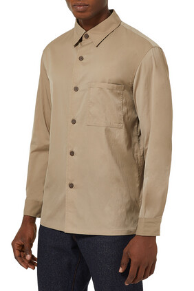 Clyfford Packable Jacket in Piqué Nylon