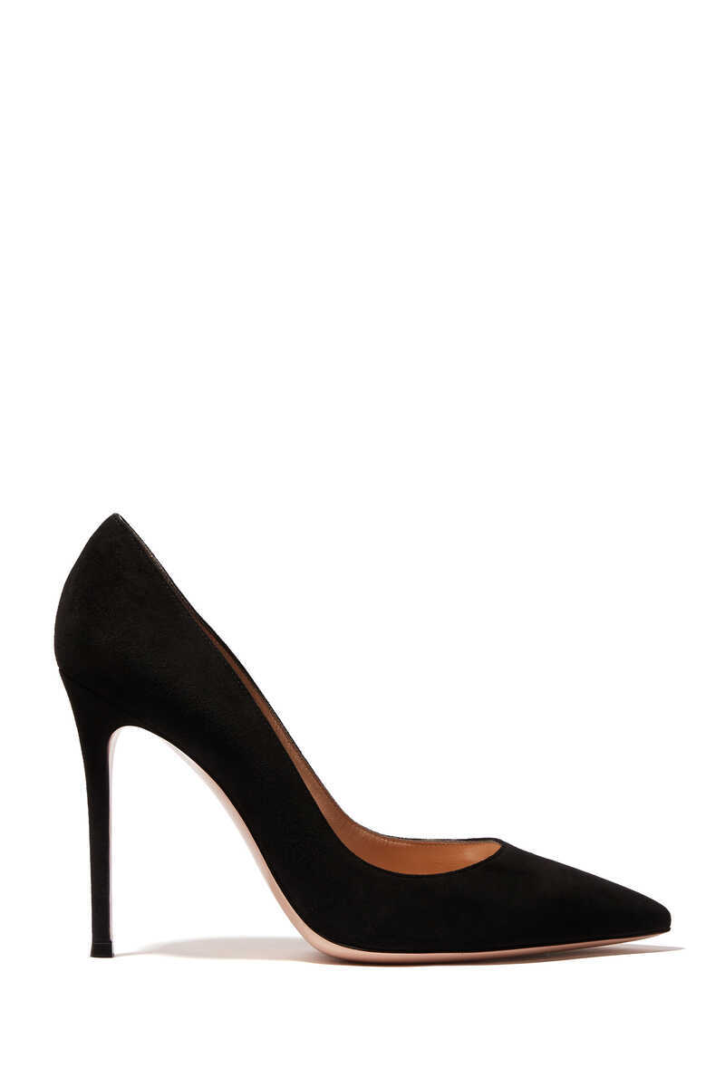 Suede 100 Pumps image number 5