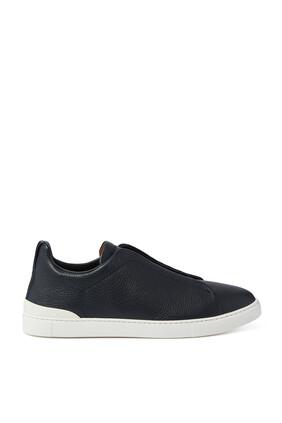 Triple Stitch Slip-On Sneakers