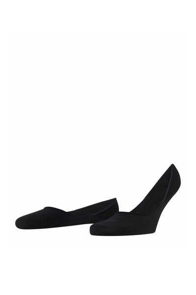 Black Step No-Show Socks