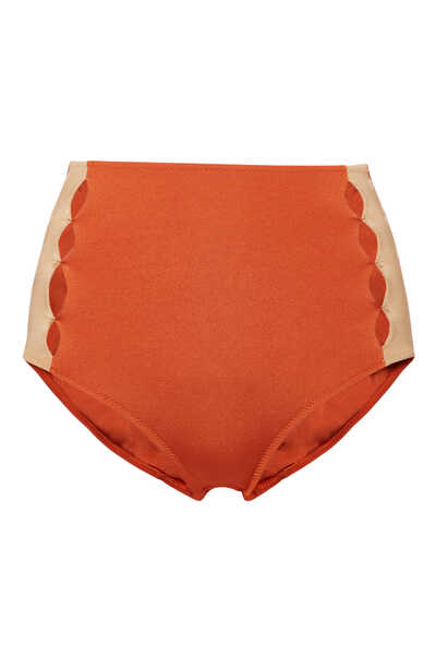 Roxanne Diamond High Waisted Bikini Bottoms