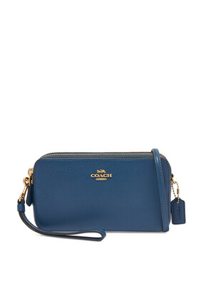 Kira Pebble Leather Cross-Body Bag
