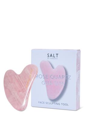 Rose Quartz Gua Sha Face Sculpting Tool